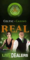 Play at Blackjack at Celtic Casino