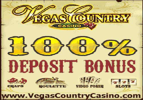 For Exciting Blackjack Play choose Vegas Country Casino